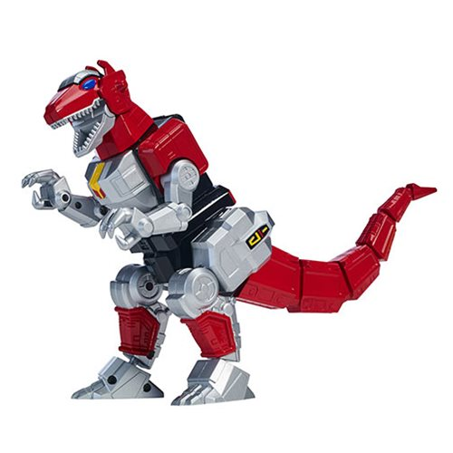 Power Rangers Legacy Deluxe MMPR T-Rex Zord with Figure