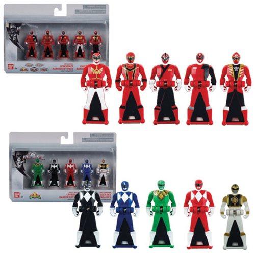 Power Rangers 25th Anniversary Ranger Keys 5-Pack Case