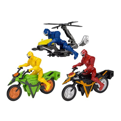 Power Rangers Ninja Steel Mega Morph Vehicle Case - Bandai - Power ...