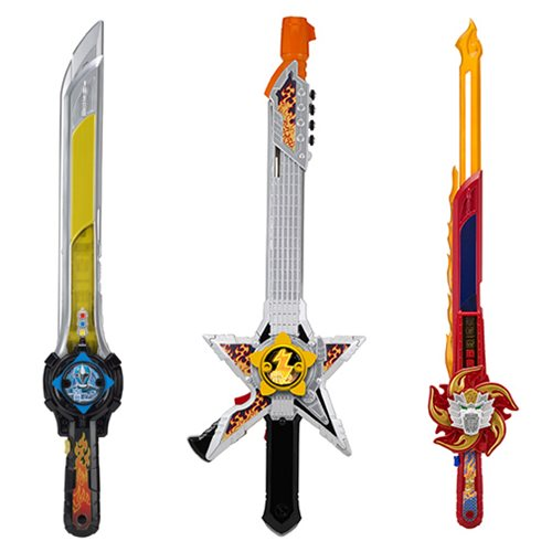 Power Rangers Super Ninja Steel Dlx. Battle Gear Wave 2 ...