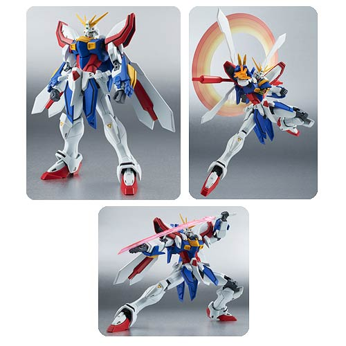 G Gundam God Gundam Robot Spirits Action Figure