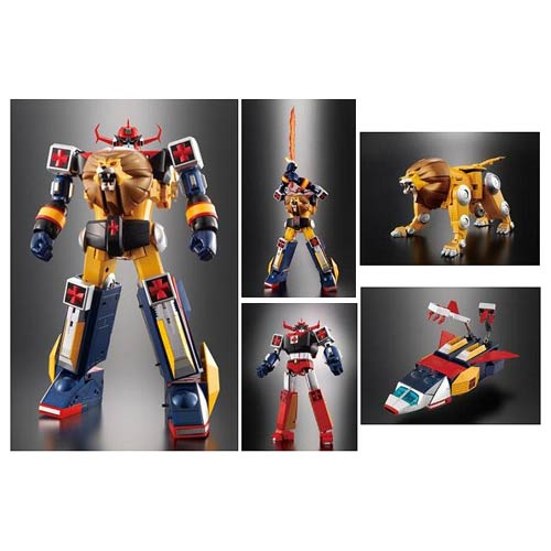 Daltanious Soul of Chogokin Die-Cast Metal Action Figure