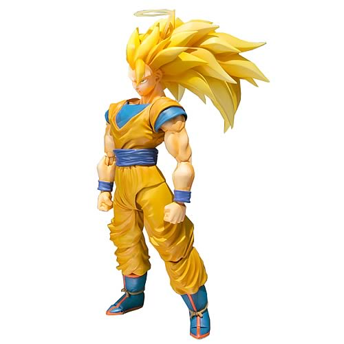Dragon Ball Z Super Saiyan 3 Son Goku SH Figuarts Figure