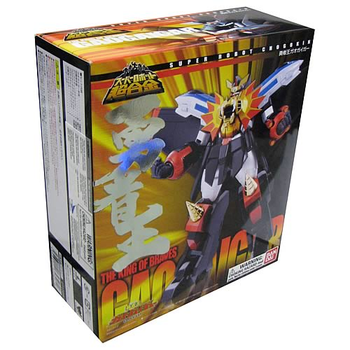 King of Braves GaoGaiGar Super Robot Chogokin Action Figure