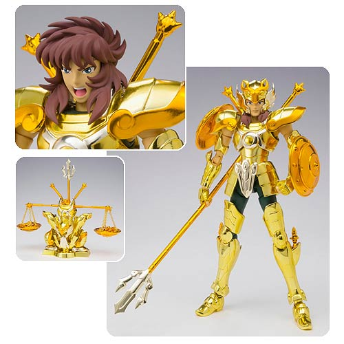 Saint Seiya Libra Doko Saint Cloth Myth EX Action Figure
