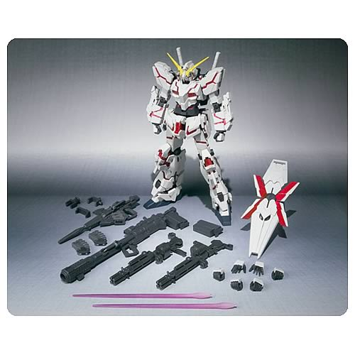 Gundam Full Action Destroy Mode Unicorn Gundam Action Figure