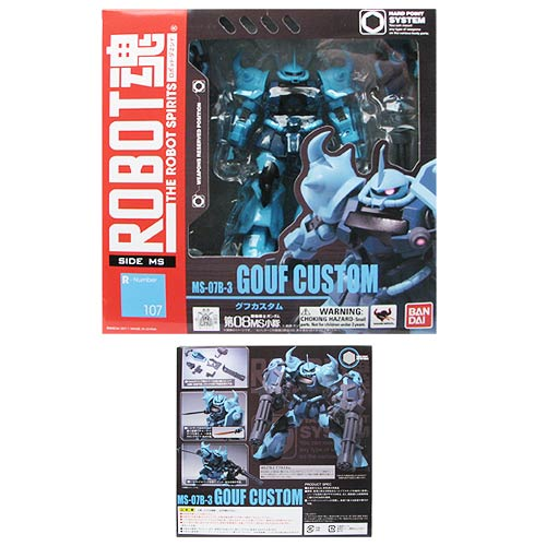Gundam 08th MS Team Gouf Custom Robot Spirits Action Figure
