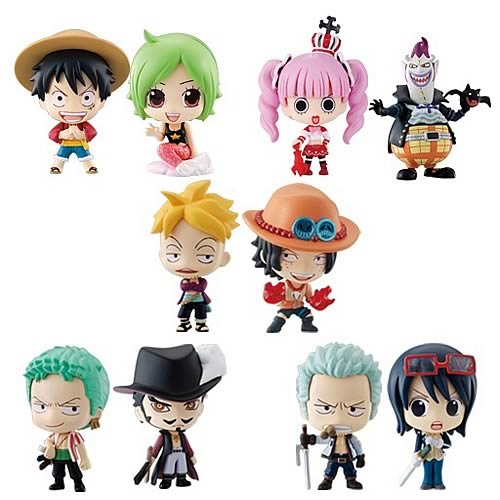 One Piece Deformeister Petit Mini-Figures Case