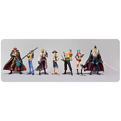One Piece Rookies Action Figures Case