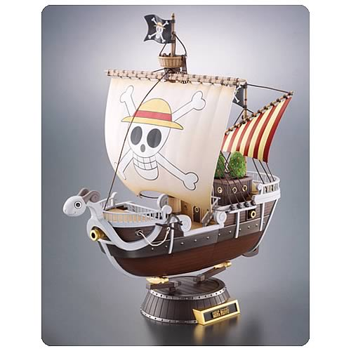 One Piece Going Merry Chogokin Vehicle