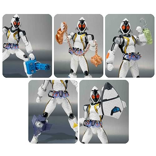 Kamen Rider Fourze Module Set 3 Action Figure Accessories