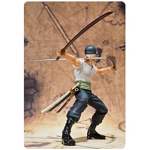 One Piece Roronoa Zoro Battle Version Action Figure
