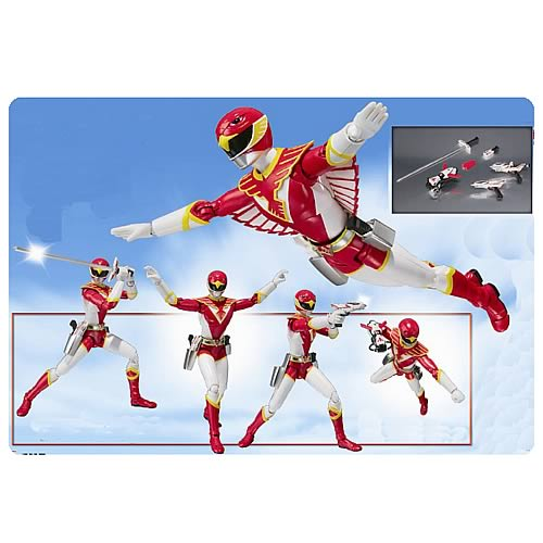 Chojin Sentai Jetman Red Hawk S.H. Figuarts Action Figure