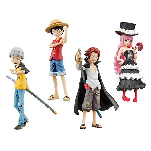One Piece Promise of the Straw Hat Half Age Figure 4-Pack