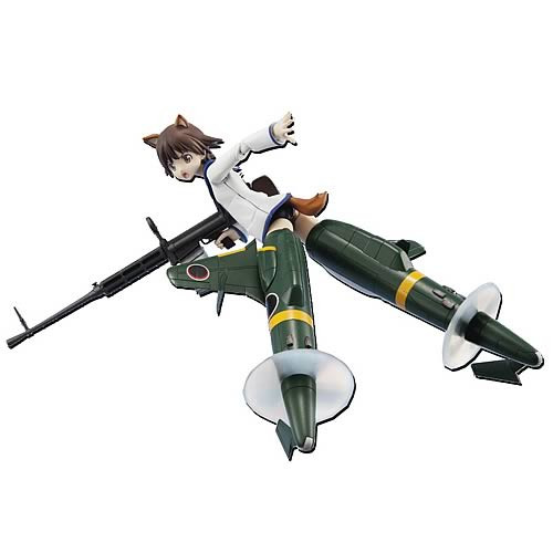 Strike Witches Yoshika Miyafuji Armor Girls Action Figure