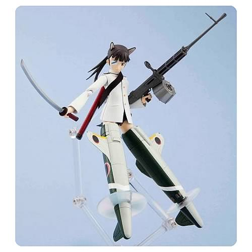 Strike Witches Mio Sakamoto Armor Girls Action Figure