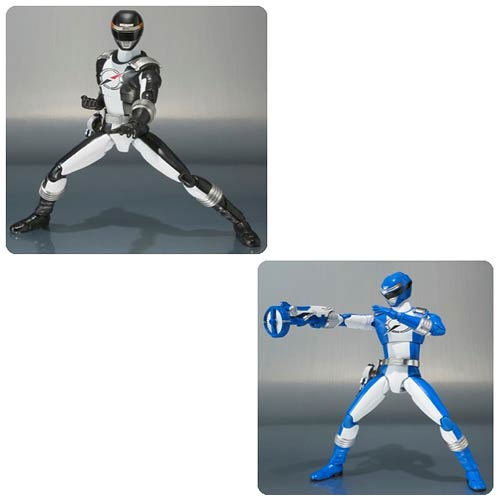 Power Rangers Operation Overdrive Blue & Black Ranger 2-Pack
