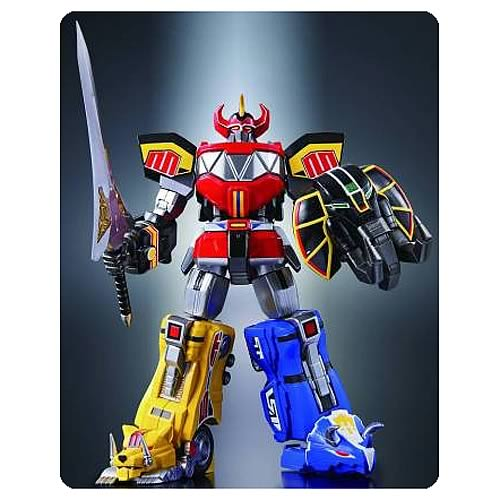 Mighty Morphin Power Rangers Megazord Chogokin Action Figure