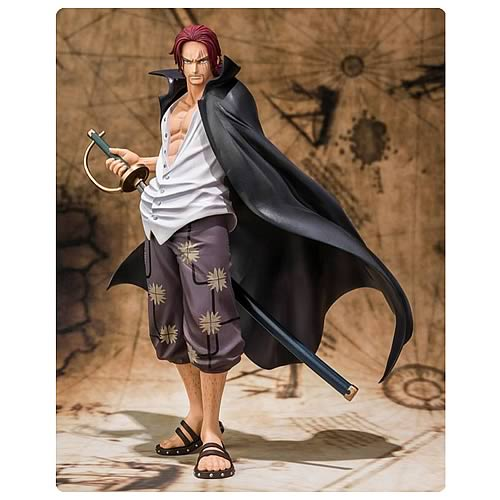 One Piece Shanks Climactic Fight Version Action Figure