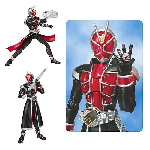 Kamen Rider Wizard Flame Style SH Figuarts Action Figure