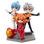 Neon Genesis Evangelion Movie Petit Eva Mini-Figure Case