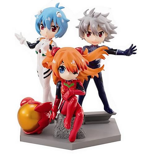 Neon Genesis Evangelion Movie Petit Eva Mini-Figure Case