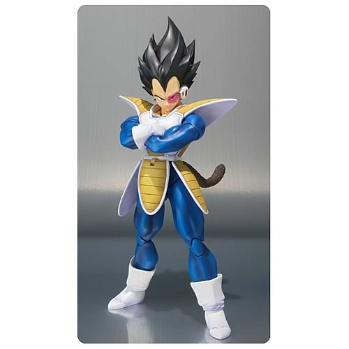 Dragon Ball Z Seiyan Vegeta SH Figuarts Action Figure