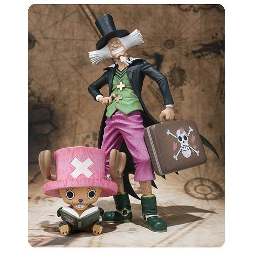 One Piece Tony Tony Chopper and Dr. Hiluluk Action Figures