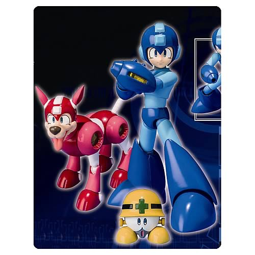 Mega Man 25th Anniversary D-Arts Action Figure