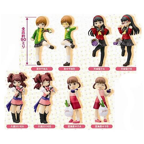 Persona 4 Half Age Characters Mini-Figure 8-Pack