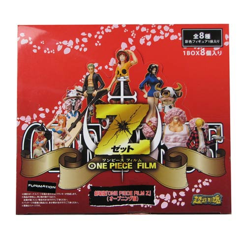 One Piece Film Z the Movie Action Figure Random 4-Pack