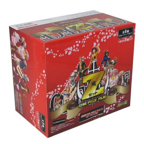 One Piece Film Z the Movie Action Figure Display Box