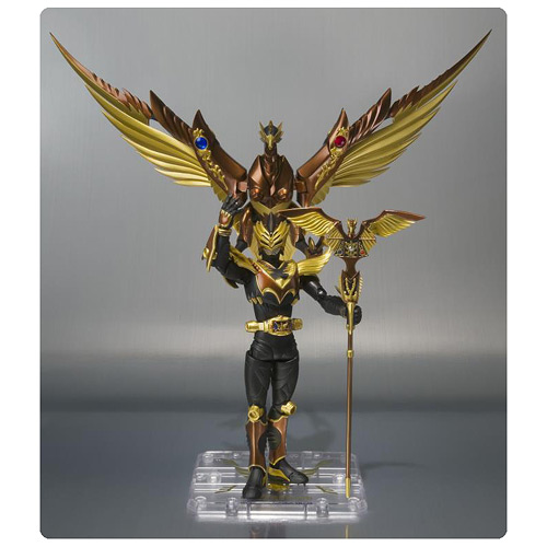Masked Rider Odin and Gold Phoenix SH Figuarts Action Figure