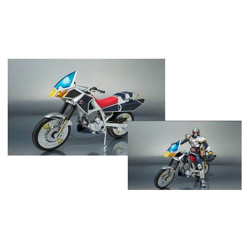 Masked Rider Blade Blue Spader Motorcycle Vehicle