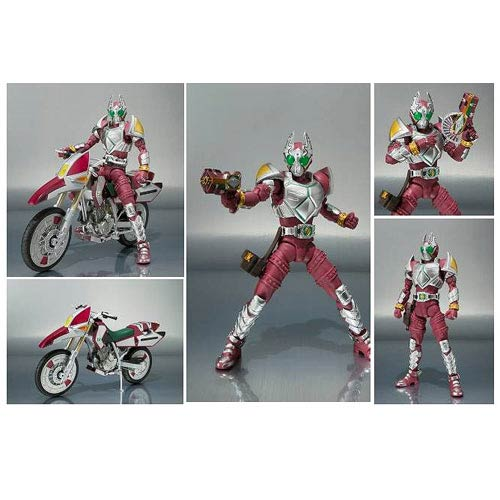 Kamen Rider Garren Figure and Red Rhombus Vehicle 2-Pack