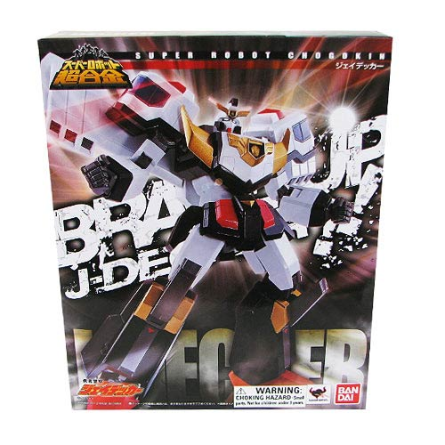 Brave Police J-Decker Super Robot Chogokin Action Figure