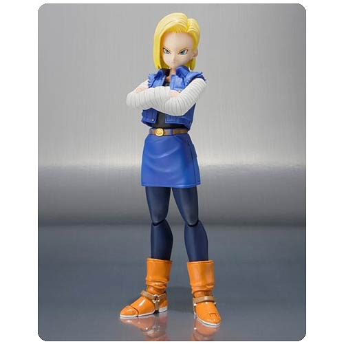 Dragon Ball Z Android 18 SH Figuarts Action Figure