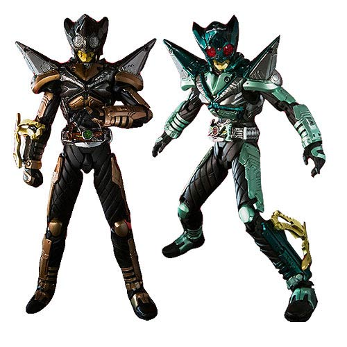 Kamen Rider Punch Hopper & Kick Hopper Action Figure 2-Pack