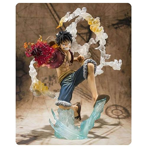 One Piece Monkey D. Luffy Battle Version Action Figure