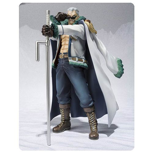 One Piece Smoker Punk Hazard Figuarts Zero Action Figure