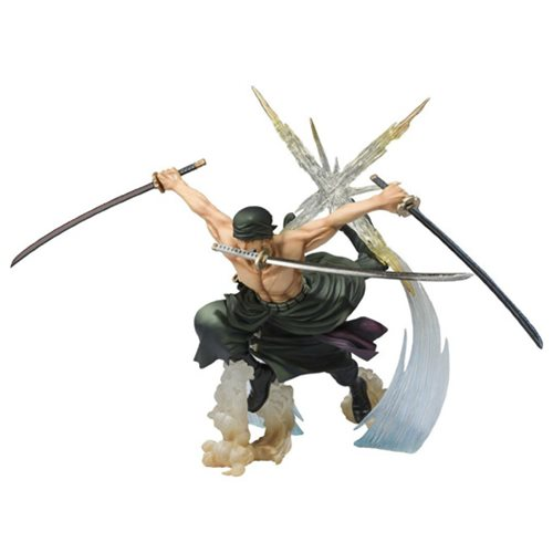 One Piece Roronoa Zoro Rongoku Onigiri Version Statue