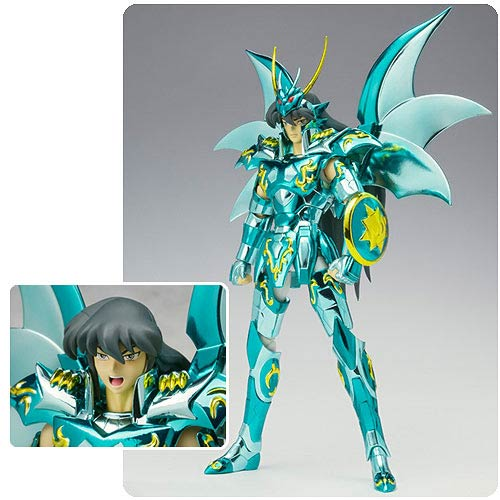 Saint Seiya Dragon Shiryu God Cloth Myth Action Figure