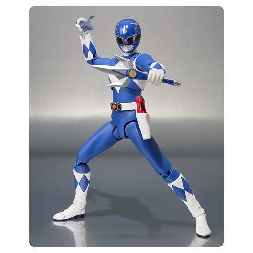Mighty Morphin Power Rangers Blue Ranger Action Figure