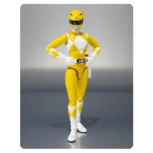 Power Rangers Yellow Ranger SH Figuarts Action Figure