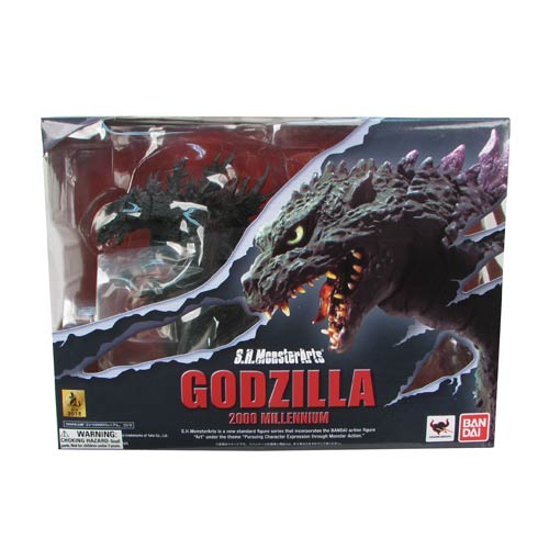 Godzilla 2000 Millennium SH MonsterArts Action Figure