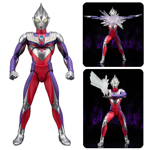 Ultraman Tiga Multi-Type Ultra-Act Action Figure