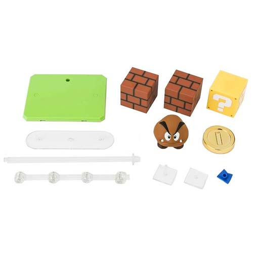 Super Mario SH Figuarts Diorama Play Set A