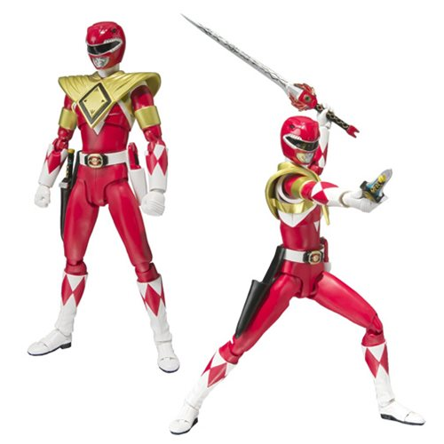 Mighty Morphin Power Rangers Armor Red Ranger Action Figure