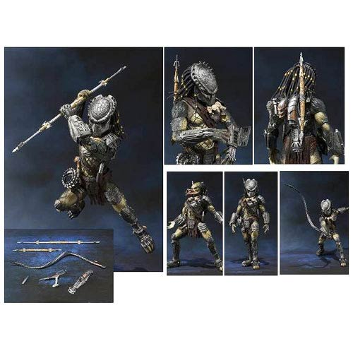 Alien vs Predator Wolf Predator SH MonsterArts Action Figure