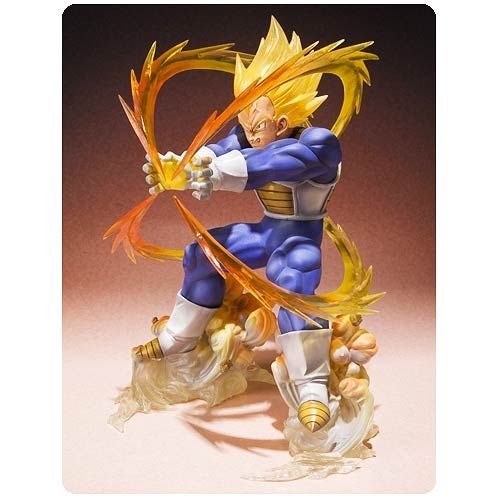 Dragon Ball Z Super Saiyan Vegeta Figuarts Zero Statue